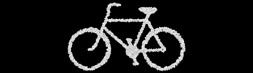 Ari rides her bike